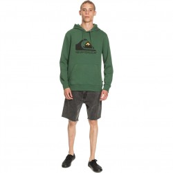 QUIKSILVER Square Me Up - Hoodie for Men - Greener pastures