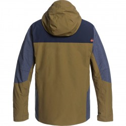 QUIKSILVER Mission Plus - Ανδρικό Snow Jacket - Military Olive