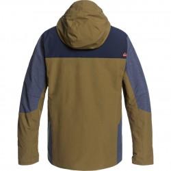 QUIKSILVER Mission Plus - Men's Snow Jacket - Military Olive