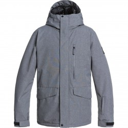 QUIKSILVER Mission Solid - Men's Snow Jacket - Heather Grey