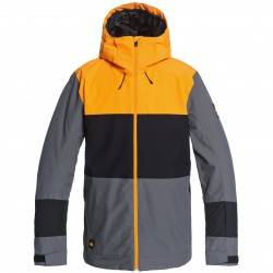 QUIKSILVER Sycamore - Men's Snow Jacket - Iron Gate