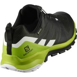 SALOMON XA ROGG GTX- Men's shoes - Phantom/Lime Green/White