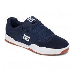DC Central - Leather Shoes for Men - DC Navy/Gum