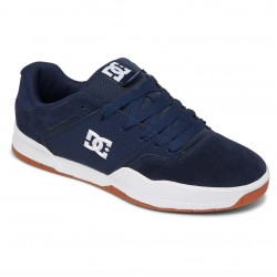 DC Central - Leather Shoes for Men - DC Navy/Gum