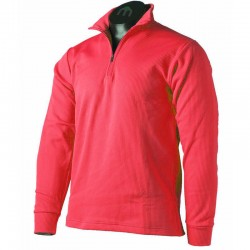 MICO 0670 2nd Layer Men's Half Neck zip Thermal - Red