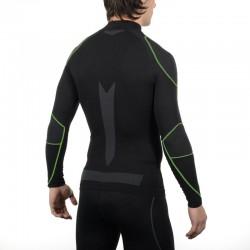MICO 1840 Black/Green shirt L/S Warm Skintech ΘΕΡΜΟΕΣΩΡΟΥΧΟ ΑΝΔΡΙΚΟ