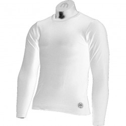MICO 3392/3651 White Mens long sleeve Thermal shirt