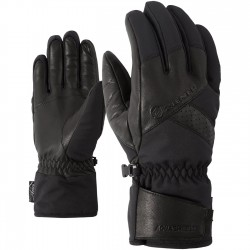 ZIENER GETTER AS Black Men's ski gloves