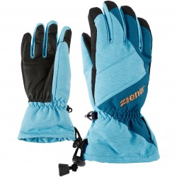ZIENER AGIL AS Blue Aqua HB Junior Ski Gloves