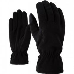 ZIENER IBRO Black Γάντια Fleece