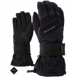 ZIENER MEDICAL GTX® Black Men's Snowboard gloves