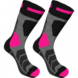 K2 ICE 12711 Anthra.Neon Fuchsia Trekking socks