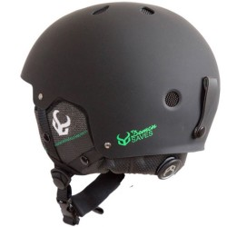 DEMON FACTOR Black Helmet With Audio