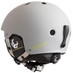 DEMON FACTOR Gray Helmet With Audio