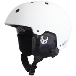 DEMON FACTOR White Helmet With Audio