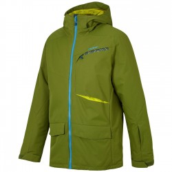 ZIENER TAHAT Man Warm Olive Snow Jacket
