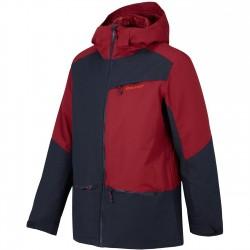 ZIENER TAURON Blue Navy multi Men's Snow Jacket