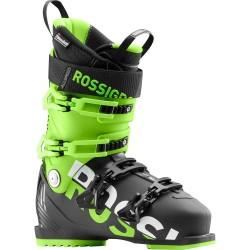 ROSSIGNOL ALLSPEED 100 Black/Green Men's Ski Boots