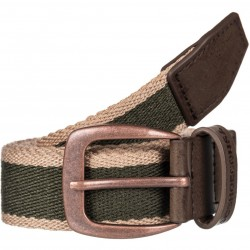 DC DUALTONE Vintage Green Webbing Belt