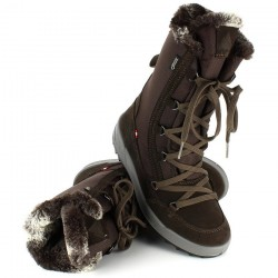 DACHSTEIN Hannah GORE-TEX® - Γυναικείες Μπότες χιονιού - Chocolate/Brown