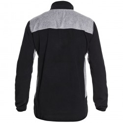 QUIKSILVER AKER Black Men Half-Zip Technical Fleece