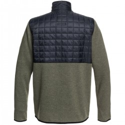 QUIKSILVER Into The Wild Men's Technical Fleece-Grape Leaf