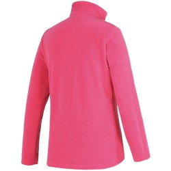ZIENER Jamil Junior - Kid's 1/4 Zip Fleece - Pink Blossom
