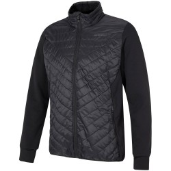 ZIENER Jelio - Men's Hybrid Fleece Jacket - Black