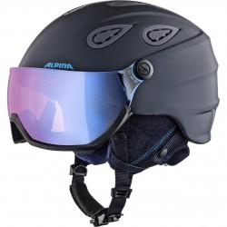 ALPINA GRAP 2.0 VISOR Helmet - Night blue/Denim matt