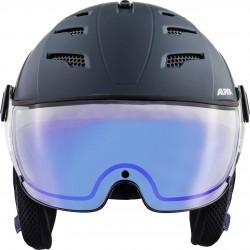 ALPINA JUMP 2.0 VISOR Varioflex Helmet - Nightblue denim matt