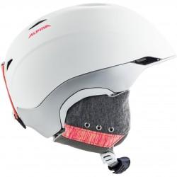 ALPINA PARSENA - Women's Helmet - White flamingo matt