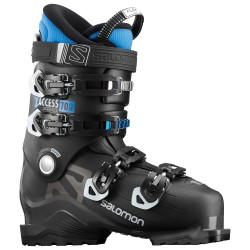 SALOMON X ACCESS 70 Wide - Black/Indigo Blue - Men's Ski Boots