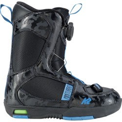 K2 MINI TURBO Black - Kid's Snowboard Boots