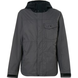 OAKLEY Division 10K Biozone Men's Snowboard Jacket - Forged Iron