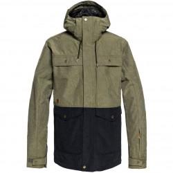 QUIKSILVER Horizon Military - Men's Snow Jacket - Grape leaf