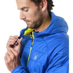 SPYDER Glissade Hoodie Men's insulator Jacket - Turkish sea/Polar acid