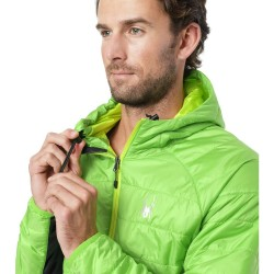 SPYDER Glissade Hoodie Men's insulator Jacket - Fresh Black Acid