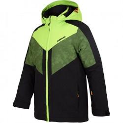 ZIENER Arko Junior - Παιδικό Mπουφάν Ski - Black/Green