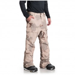 DC Asylum - Men's Shell Snow Pants - Incense Dcu Camo