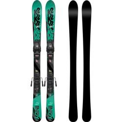 K2 INDY Junior Ski + MARKER FDT 4.5