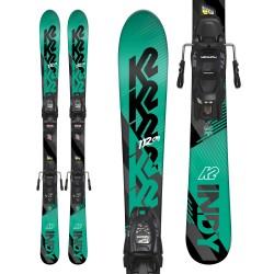 K2 INDY Junior Ski + MARKER FDT 7.0