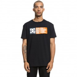 DC VERTICAL ZONE SS Black Men's T-Shirt