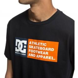 DC VERTICAL ZONE SS Black Men's T-Shirt