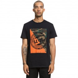 DC WARFARE SS Black Men's T-Shirt