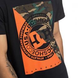 DC WARFARE SS Black Men's T-Shirt