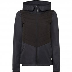O'NEILL Athmos Baffle Mix Ski Fleece - Women's Fleece Jacket - Black Out