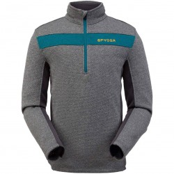 SPYDER Encore Half zip - Men's fleece pullover - Ebony
