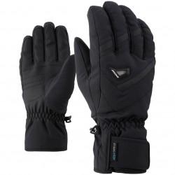 ZIENER GARY AS® - Men's ski gloves - Black
