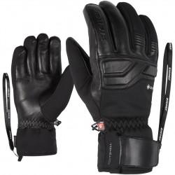 ZIENER GIN GTX PR - Ανδρικά Gore-tex + Primaloft® Γάντια ski - Black