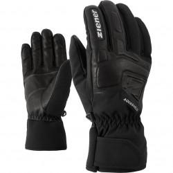 ZIENER GLYXUS AS® - Men's ski gloves - Black
